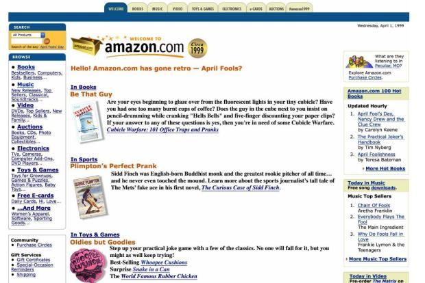 Amazon goes retro, Google launches actual cloud platform