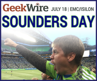 Let's get fired up Seattle! Sounders Day is a month away.
