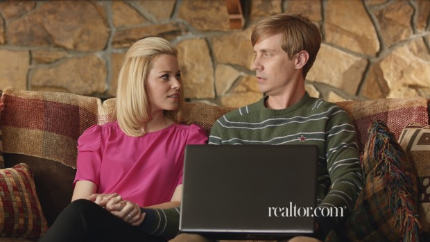 A scene from Move Inc.'s  Realtor.com ad, which takes a humorous approach to the home buying process