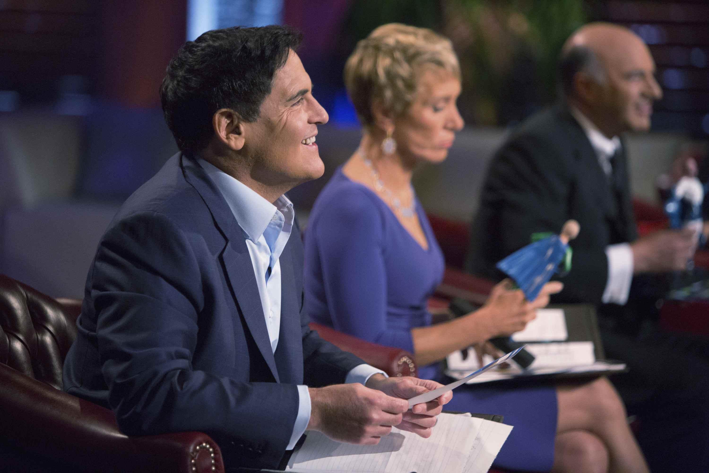 Photo credit: (ABC/Michael Desmond) MARK CUBAN, BARBARA CORCORAN, KEVIN O'LEARY