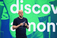 Spotify founder and CEO Daniel Ek (Photo by Michael Loccisano/Getty Images for Spotify)