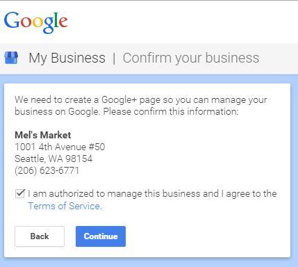 Google TOS