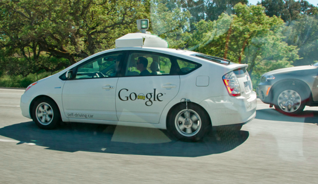 Photo via Flickr/Hydrogen/Google self-driving car