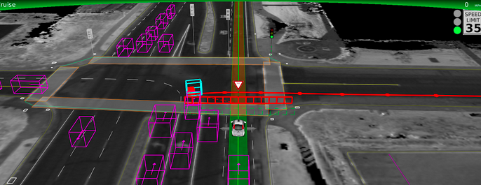 Photo via Google self-driving car maps