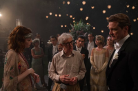 Photo via imdb.com/Woody Allen on the set of 'Irrational Man'