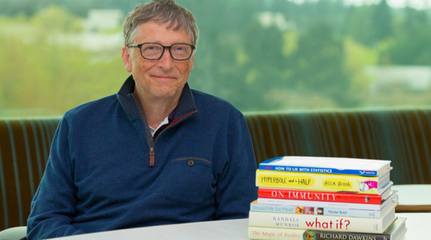 Here are the 7 books that Bill Gates says you need to read this summer