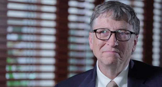 Photo via YouTube/Vox/Bill Gates