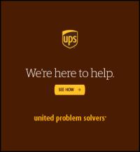 UPS Site Sponsor Post