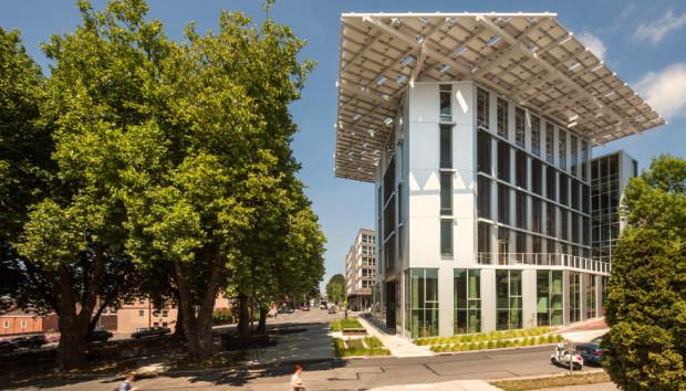 The Bullitt Center just opened in Seattle's Capitol Hill neighborhood. Photo via Bullitt Center.