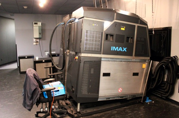 The new dual 4K laser projection system at the Boeing IMAX theater exists in just three other locations worldwide.