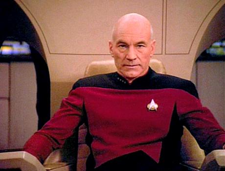 Captain Jean-Luc Picard. Photo via Wikipedia.