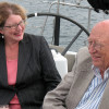 Susannah Malarkey with Bill Gates Sr. Photo via Technology Alliance.