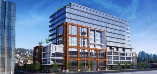 Rendering of The Alexandria Center at 400 Dexter. Credit Collins Woerman (PRNewsFoto/Alexandria Real Estate Equities)