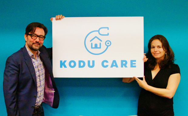KoduCare Co-founders Mauricio Gonzalez de la Fuente and Sigal Saar Ben-Ari