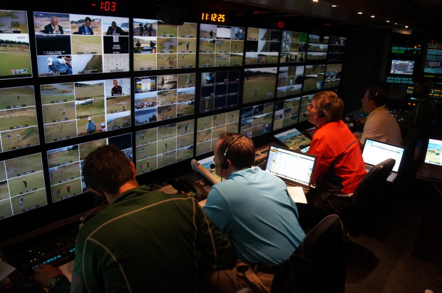 Inside Fox Sports Live Tv Production Truck At The Network