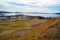 The vast landscape at Chambers Bay.