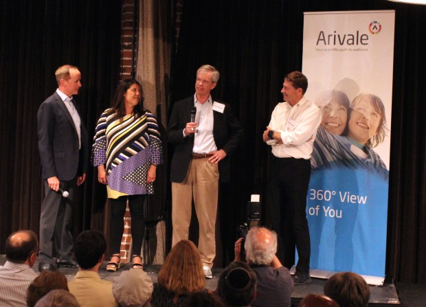 "Three of Arivale's ""pioneers"" speak at Wednesday's event."