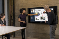 A 55-inch Surface Hub. (Microsoft Photo)