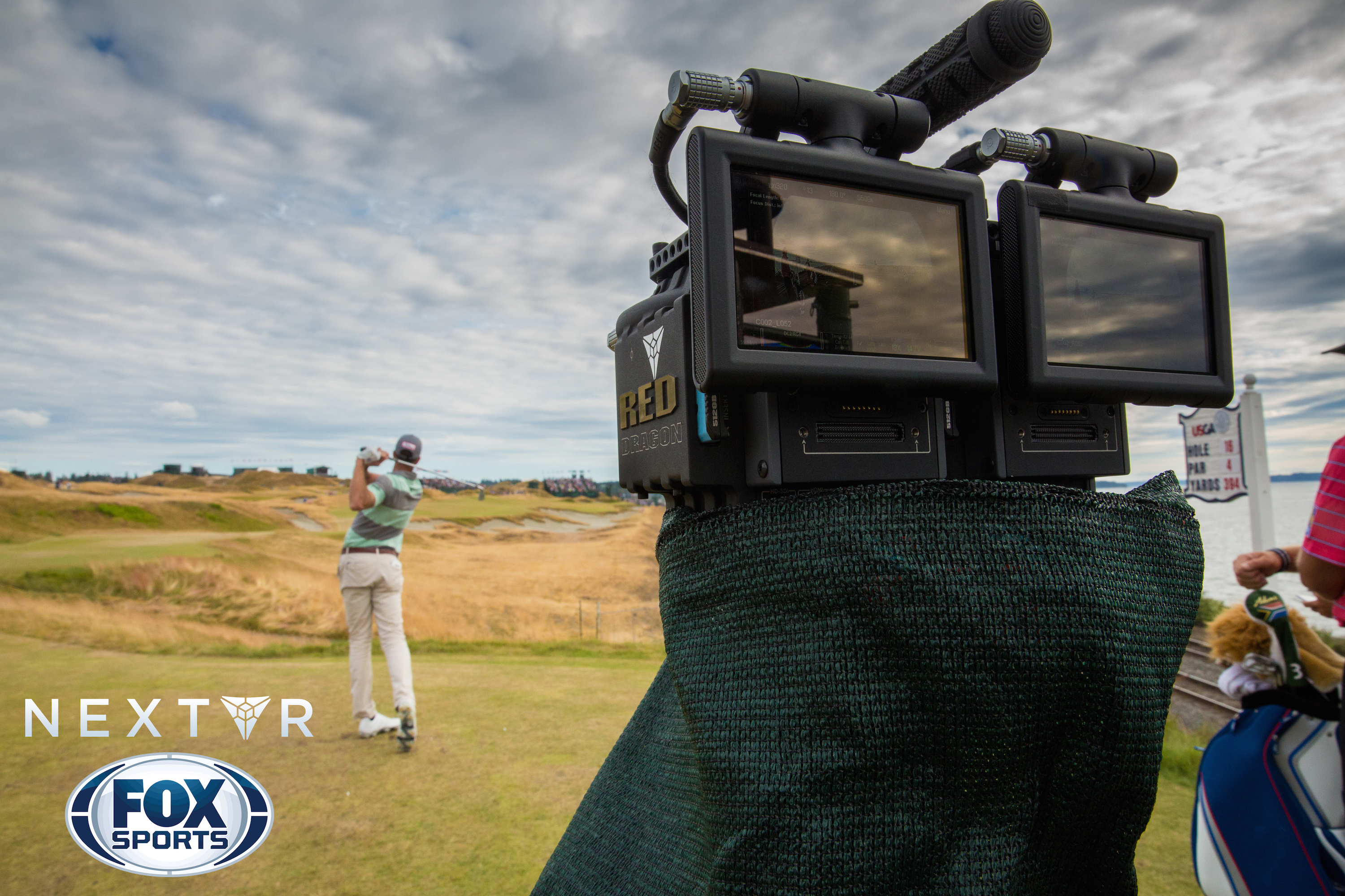 I watched live golf with a virtual reality headset and it was amazing