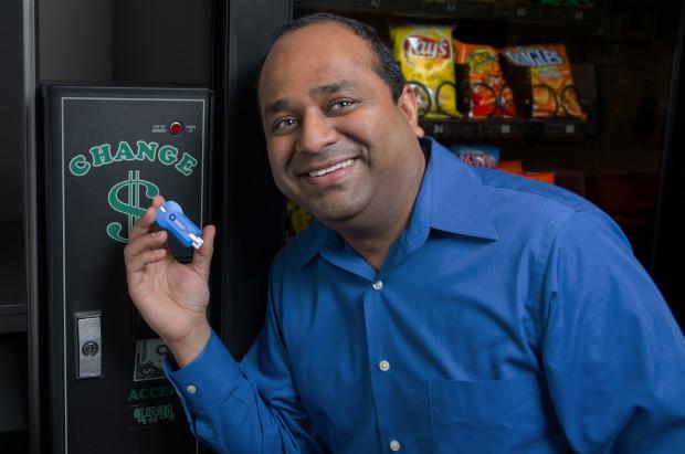 PayRange CEO Paresh Patel.
