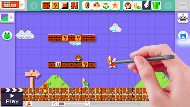 Photo via Best Buy/Nintendo Mario Maker