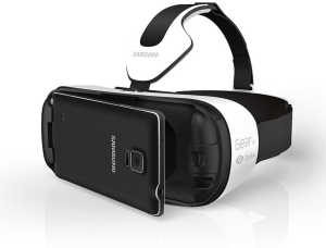 The Samsung Gear VR, powered by Oculus.