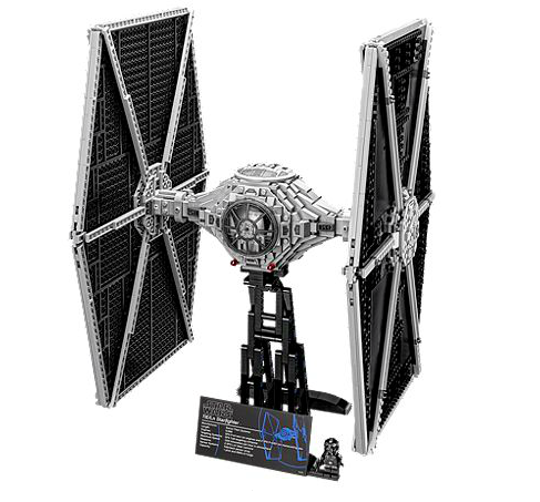 A Lego TIE Fighter could be made of eco-friendly materials by 2030/Photo via Lego