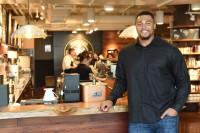 Seahawks lineman Gary Gilliam participated in Starbucks' program. Photo via Starbucks.
