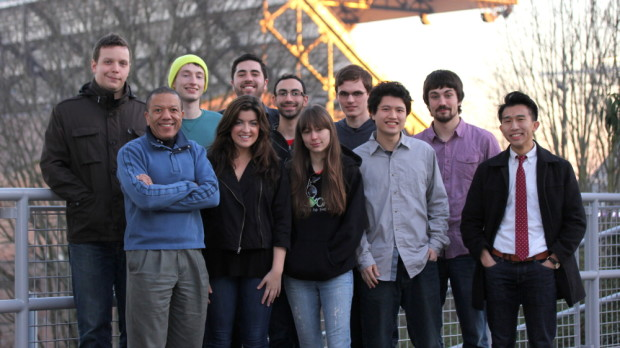 The UW EcoCAR 3 team leadership.