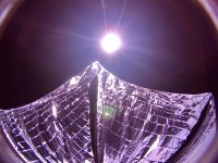 LightSail's only selfie