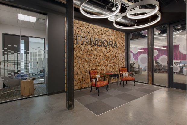 Pandora opened a new office in Seattle's Pioneer Square neighborhood in late 2014.