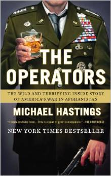 Photo via Amazon/ The Operators by Michael Hastings