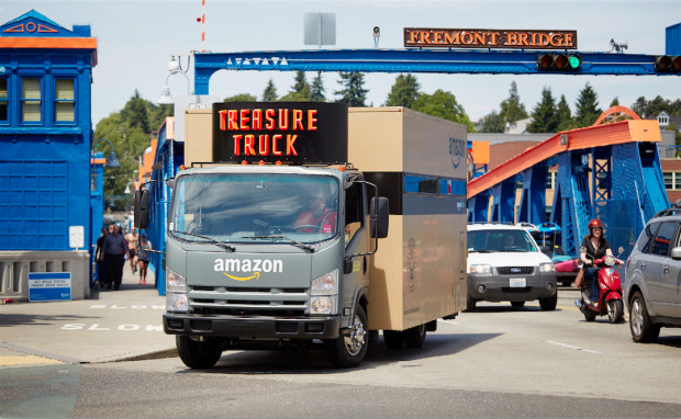 The Treasure Truck from Amazon