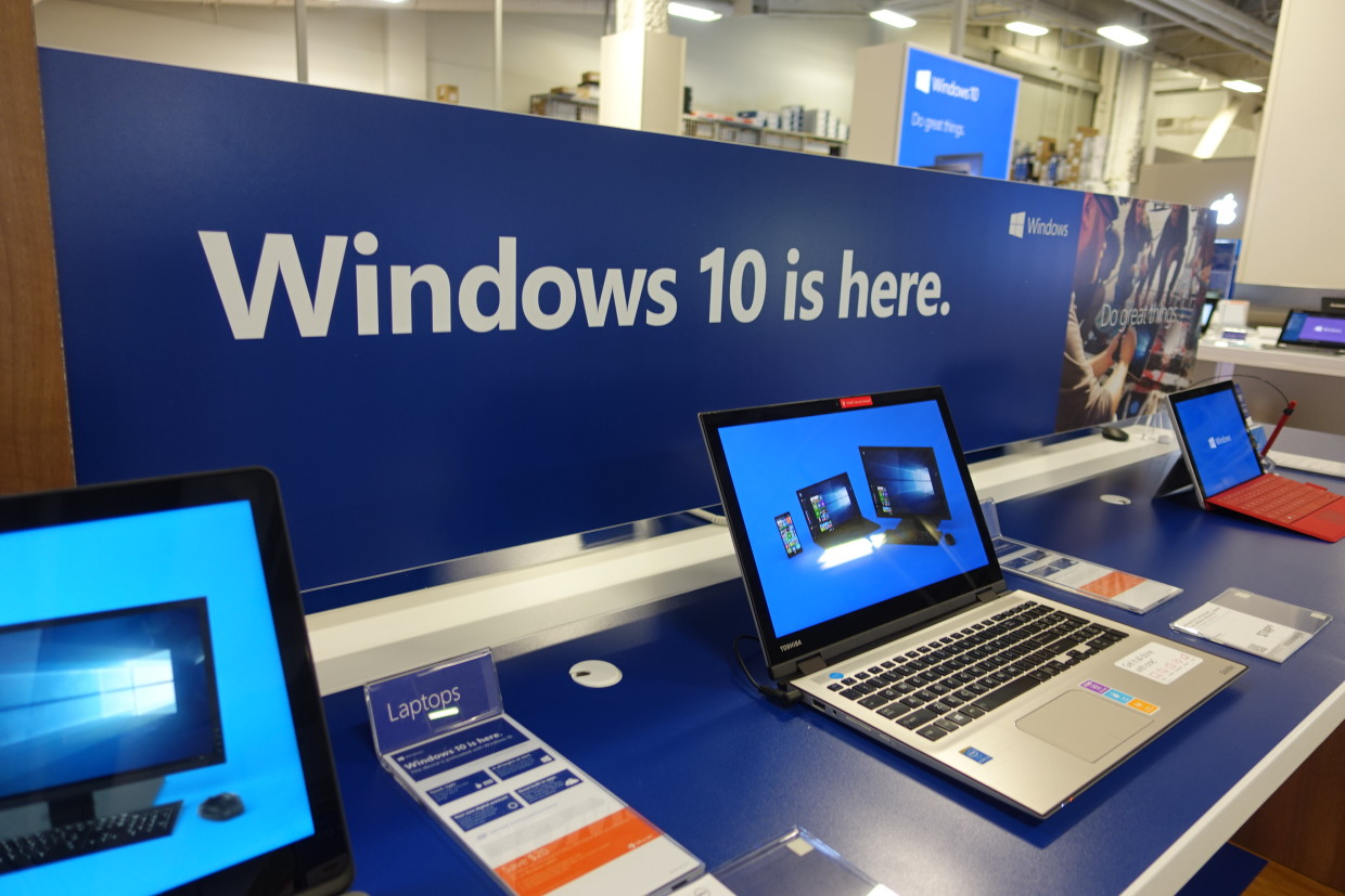 Windows 10 Launch In Retail Stores Some Pre Loaded