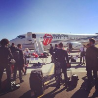 After the Rolling Stones' plane was spotted in Seattle, GeekWire went on a mission to find out what they were up to.
