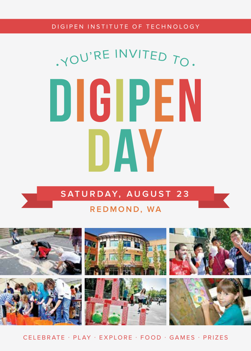 DigiPen Day Flyer