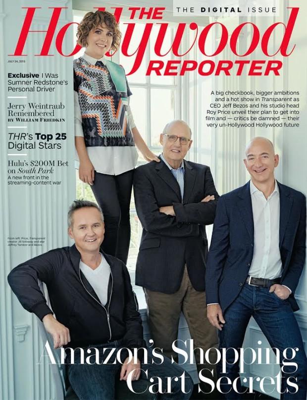 Amazon Goes Hollywood Jeff Bezos Talks Transparent Woody Allen
