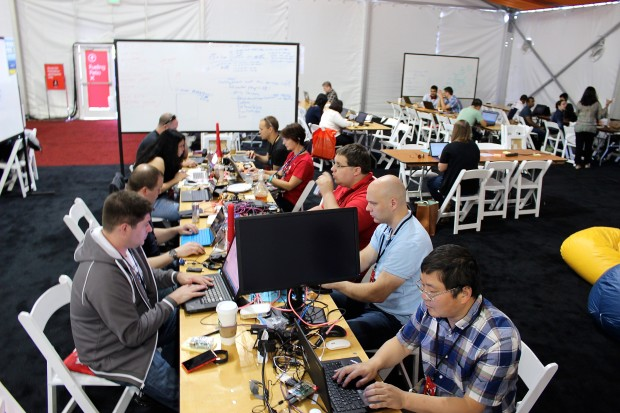 At Microsoft S Hackathon Employees Come Up With Solutions