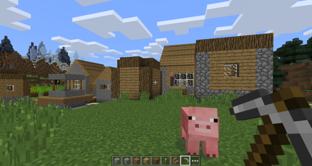 New version of Minecraft unveiled for Microsoft's Windows 10