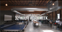 "Photo via the Atlantic/""32-Hour Workweek"""