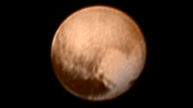 Photo via NASA New Horizons/NASA-JHUAPL-SWRI/Pluto