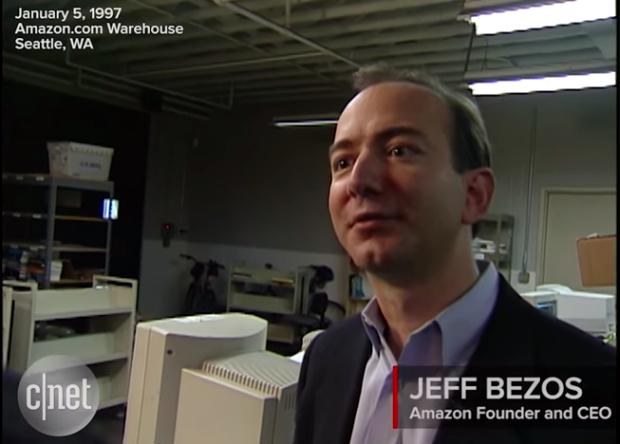 Inside Amazon Circa 1997 Jeff Bezos Gives A Tour In This Rare Video
