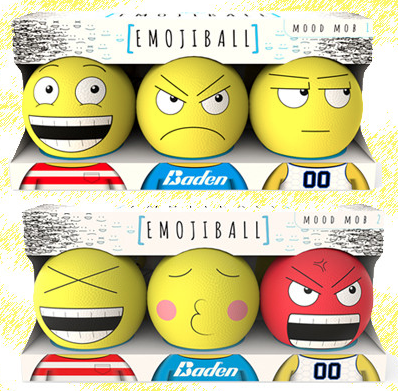 Emojiballs Baden Sports Unveils New Rubber Balls With Emojis Geekwire