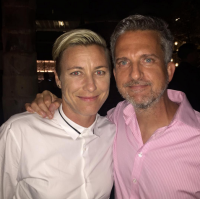 Bill Simmons and Abby Wambach. Photo via Instagram.