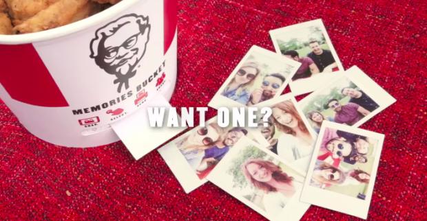 Photo via YouTube/KFC Memories Bucket