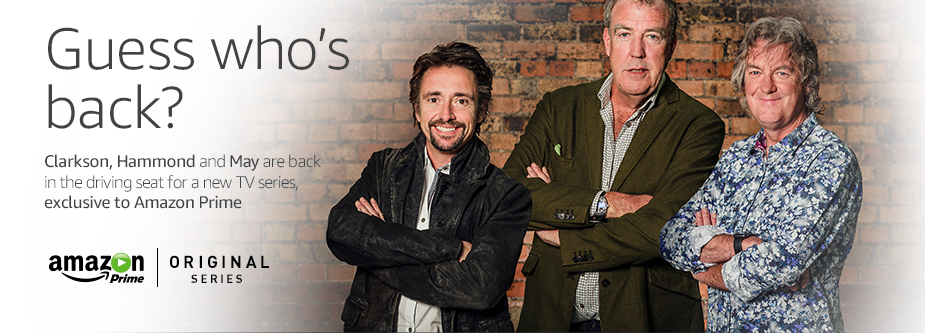 top gear guys headed to amazon new show to start in 2016 geekwire. Black Bedroom Furniture Sets. Home Design Ideas