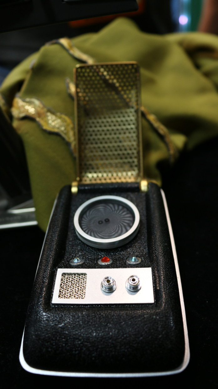 Star Trek Communicator-Alyssa Rasmus Pink Camera Media