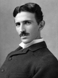 Photo via Wikipedia/Nikola Tesla