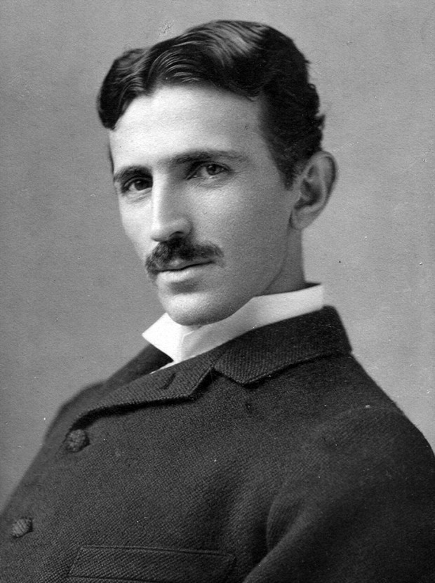 Photo via Wikipedia/Nikola Tesla