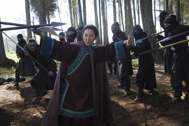 Still from Crouching Tiger, Hidden Dragon: The Green Legend. Photo via Netflix